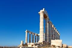 希腊sounio 免版税库存图片