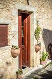 希腊taverna 免版税库存图片