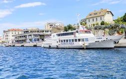 希贝尼克,克罗地亚港  免版税图库摄影