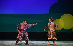 """给帐户孩子的北京Opera""""Yue teenager†带来 免版税库存照片"""