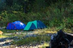 帐篷二 免版税库存照片
