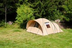 帐篷露营地 库存图片