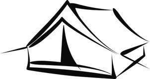 帐篷 皇族释放例证