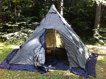 帐篷/lavo 库存照片