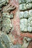 帕伦克,墨西哥, 2015年12月15日:玛雅人图象和玛雅w 免版税图库摄影
