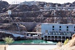 帕克水坝,帕克,亚利桑那,拉帕兹县,美国 免版税库存照片