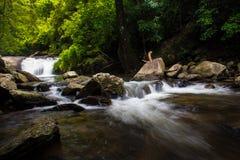帕劳瀑布在泰国 图库摄影