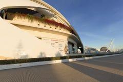 帕劳de les Arts女王索非亚是巴伦西亚歌剧院  免版税库存图片