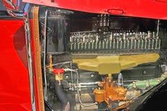 帕卡德大型高级轿车引擎 库存图片