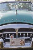 1951年帕卡德敞篷车格栅 库存图片
