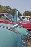 1951年帕卡德敞篷车装饰品 库存照片