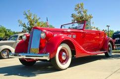 1936年帕卡德模型1404敞篷车 免版税图库摄影
