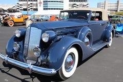 1937年帕卡德汽车 库存图片