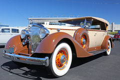 1934年帕卡德汽车 免版税库存图片