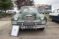 1950年帕卡德超级8游览车正面图 免版税库存照片