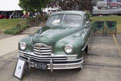 1950年帕卡德超级8游览车 免版税库存照片