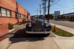1941年帕卡德110敞篷车小轿车 免版税库存照片