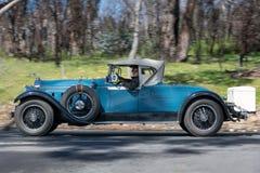 1928年帕卡德526敞蓬旅游车 库存照片