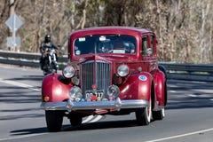 1937年帕卡德1501超级8轿车 库存图片