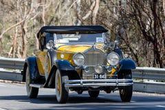 1931年帕卡德840跑车 库存照片