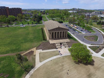帕台农神庙博物馆,纳稀威,田纳西 免版税图库摄影