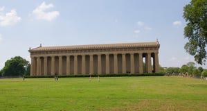 帕台农神庙在百年公园,纳稀威TN 免版税库存图片