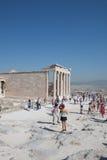 帕台农神庙在雅典,希腊 免版税图库摄影