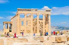 帕台农神庙在雅典,希腊 免版税库存图片