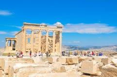 帕台农神庙在雅典,希腊 免版税库存照片