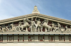 帕台农神庙 库存照片