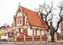 帕多瓦圣安东尼教会在Przemysl 波兰 库存图片