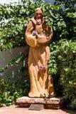 帕多瓦圣安东尼雕象使命的圣地亚哥 免版税库存照片