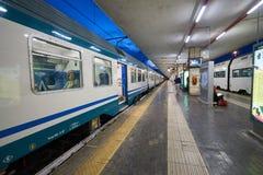 帕多瓦火车站 免版税库存照片