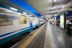 帕多瓦火车站 库存照片