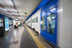 帕多瓦火车站 免版税库存图片