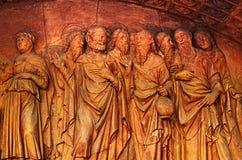 帕尔瓦-切尔托萨迪帕维亚,意大利Charterhouse  免版税图库摄影
