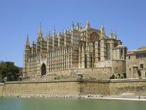 帕尔马大教堂 库存照片