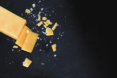 帕尔马干酪 库存照片
