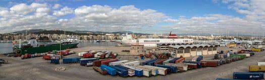 帕尔马港口 库存照片