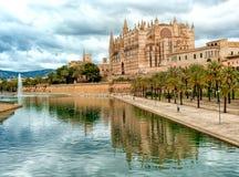 帕尔马,西班牙 免版税库存图片