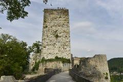 帕彭海姆,南部德国城堡  库存图片