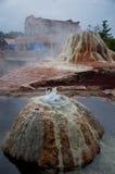 帕戈萨斯普林斯温泉城自然地球地热水池 库存照片