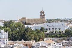帕拉西奥公爵的de麦地那Sidonia, Sanlucar de Barrameda,卡迪士, S 免版税图库摄影