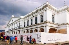 帕拉西奥自治都市,圣克里斯托瓦尔de Las卡萨什,墨西哥 免版税库存图片