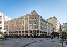 帕拉西奥Avenida Avenida宫殿-库里奇巴,巴拉那,巴西 免版税库存照片