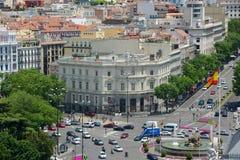 帕拉西奥de利纳雷斯,马德里,西班牙 免版税图库摄影