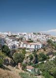 帕拉西奥de蒙德拉贡朗达,安达卢西亚,西班牙 免版税库存照片