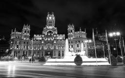 帕拉西奥de Cibeles -马德里 库存照片