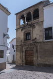 帕拉西奥de Orive,位于同一个名字的正方形,新生的民用建筑学科多巴的例子 免版税库存图片