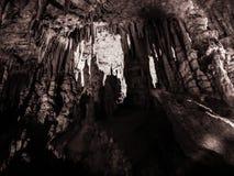 帕拉马洞,伊庇鲁斯,希腊 免版税图库摄影